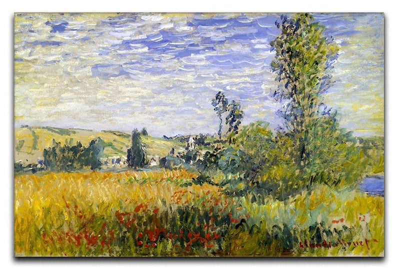 Vetheuil by Monet Canvas Print & Poster  - Canvas Art Rocks - 1