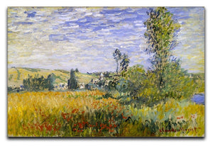 Vethueil by monet Canvas Print & Poster  - Canvas Art Rocks - 1