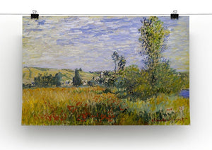 Vethueil by monet Canvas Print & Poster - Canvas Art Rocks - 2