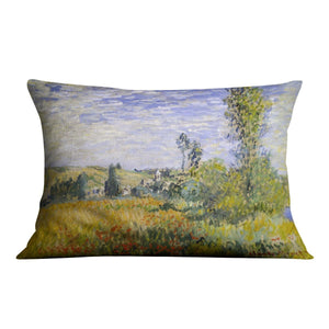 Vethueil by monet Throw Pillow