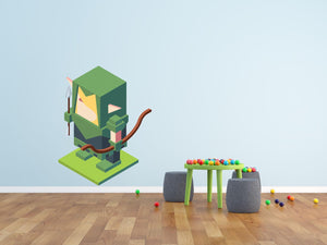 Video Game Elf Wall Decal - Canvas Art Rocks - 1