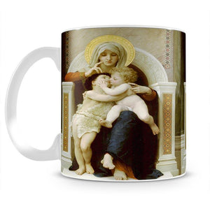 Vierge-Jesus SaintJeanBaptiste 1875 By Bouguereau Mug - Canvas Art Rocks - 2