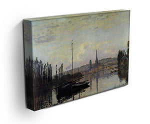 View of Rouen by Monet Canvas Print & Poster - Canvas Art Rocks - 3