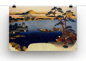 View of lake Suwa by Hokusai Canvas Print or Poster - Canvas Art Rocks - 2