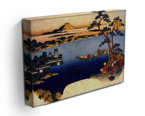 View of lake Suwa by Hokusai Canvas Print or Poster - Canvas Art Rocks - 3