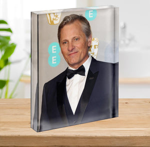 Viggo Mortensen Acrylic Block - Canvas Art Rocks - 2