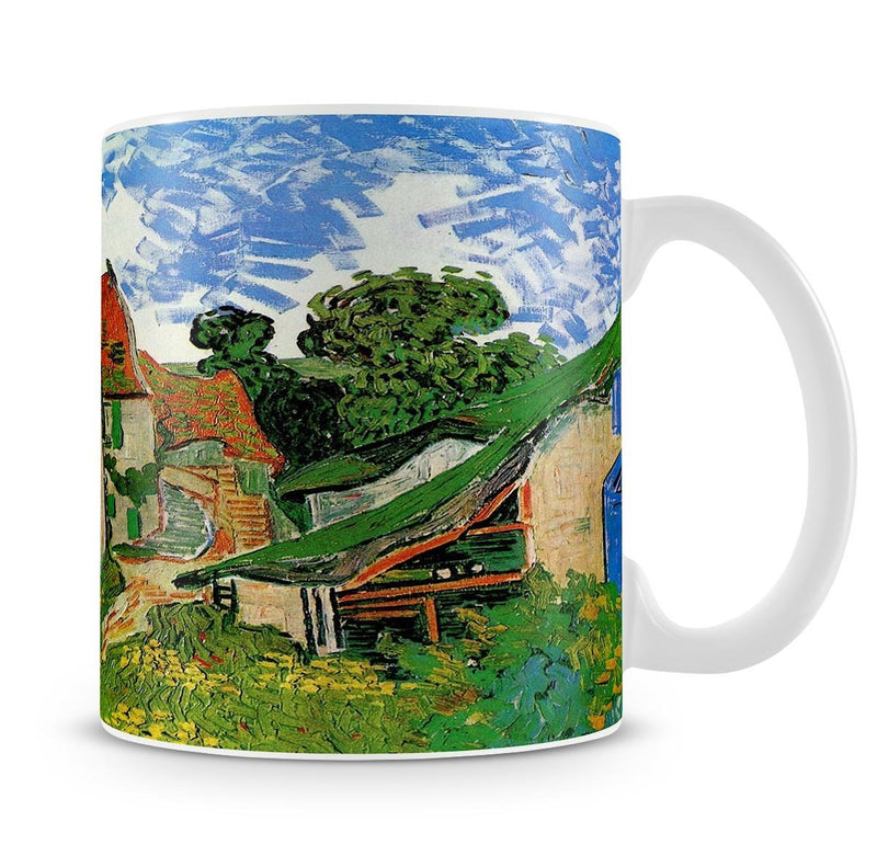 Village Street in Auvers by Van Gogh Mug - Canvas Art Rocks - 4