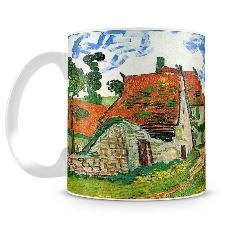 Village Street in Auvers by Van Gogh Cup - Canvas Art Rocks - 4