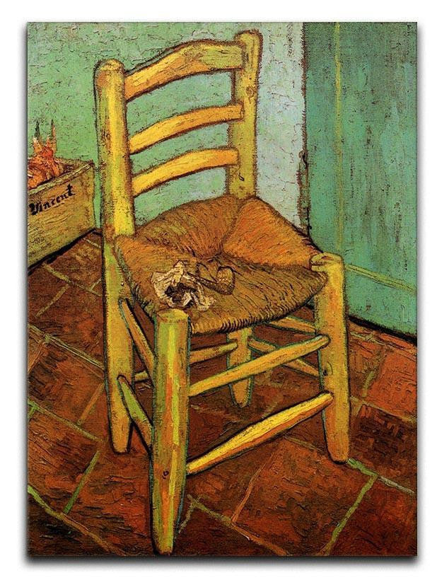 Vincent's Chair with His Pipe by Van Gogh Canvas Print or Poster