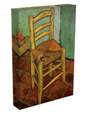 Vincent's Chair with His Pipe by Van Gogh Canvas Print & Poster - Canvas Art Rocks - 3