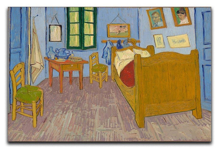 Vincents bedroom at Arles Canvas Print or Poster