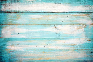 Vintage beach wood Wall Mural Wallpaper - Canvas Art Rocks - 1
