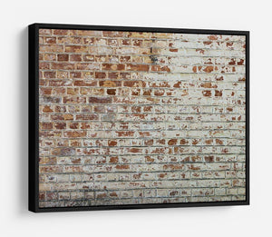Vintage dirty brick wall HD Metal Print - Canvas Art Rocks - 6