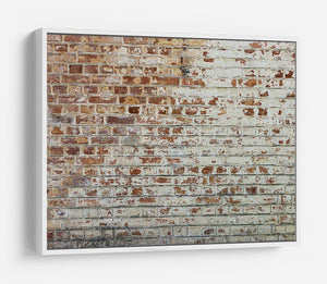 Vintage dirty brick wall HD Metal Print - Canvas Art Rocks - 7
