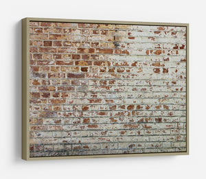 Vintage dirty brick wall HD Metal Print - Canvas Art Rocks - 8