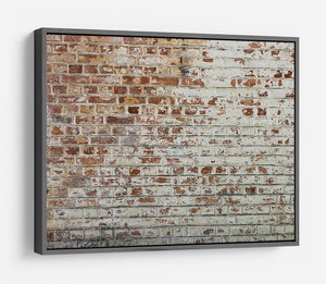 Vintage dirty brick wall HD Metal Print - Canvas Art Rocks - 9