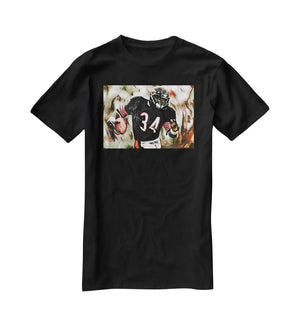 Walter Payton Chicago Bears T-Shirt - Canvas Art Rocks - 1