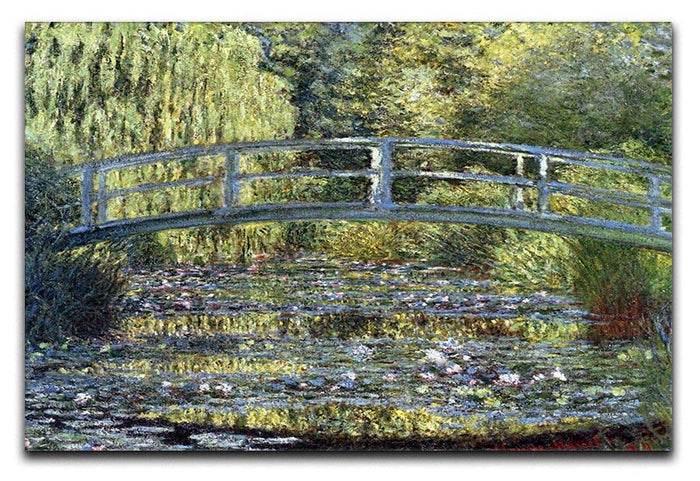 Water Lilies 9 by Monet Canvas Print or Poster