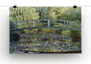 Water Lilies 9 by Monet Canvas Print & Poster - Canvas Art Rocks - 2