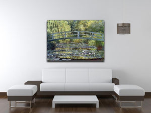 Water Lilies 9 by Monet Canvas Print & Poster - Canvas Art Rocks - 4