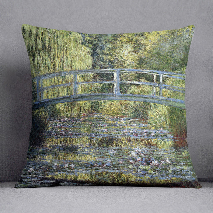 Water Lilies 9 by Monet Throw Pillow