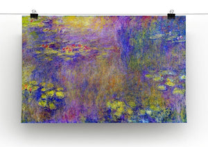 Water Lilies Yellow nirvana by Monet Canvas Print & Poster - Canvas Art Rocks - 2