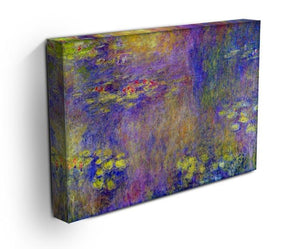 Water Lilies Yellow nirvana by Monet Canvas Print & Poster - Canvas Art Rocks - 3
