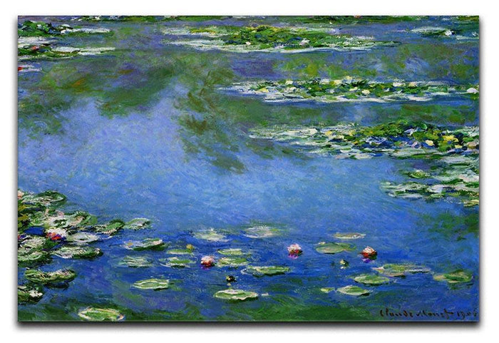 Water Lilies by Monet Canvas Print or Poster
