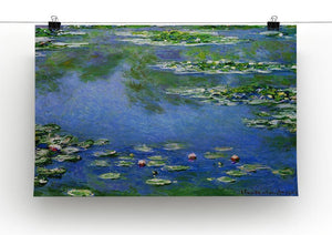 Water Lilies by Monet Canvas Print & Poster - Canvas Art Rocks - 2