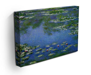 Water Lilies by Monet Canvas Print & Poster - Canvas Art Rocks - 3