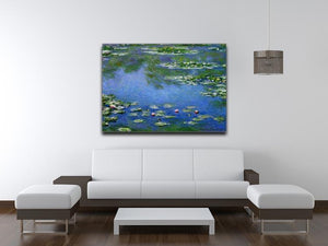 Water Lilies by Monet Canvas Print & Poster - Canvas Art Rocks - 4
