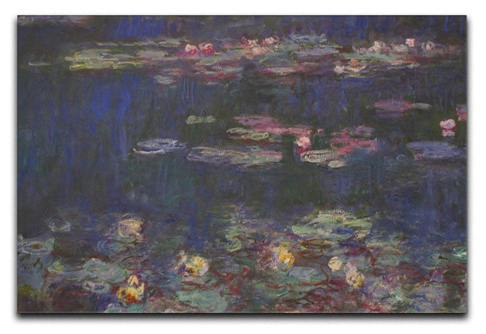 Water Lillies 11 by Monet Canvas Print or Poster