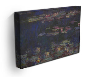 Water Lillies 11 by Monet Canvas Print & Poster - Canvas Art Rocks - 3