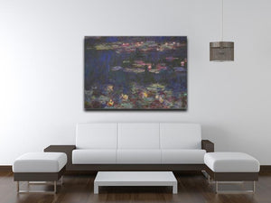 Water Lillies 11 by Monet Canvas Print & Poster - Canvas Art Rocks - 4