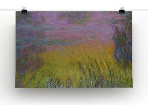 Water Lillies 12 by Monet Canvas Print & Poster - Canvas Art Rocks - 2