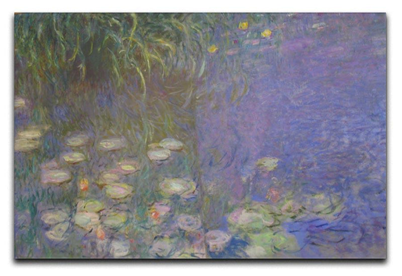 Water Lillies 13 by Monet Canvas Print & Poster  - Canvas Art Rocks - 1
