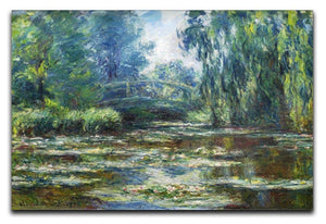 Water Lillies in Monets Garden by Monet Canvas Print & Poster  - Canvas Art Rocks - 1