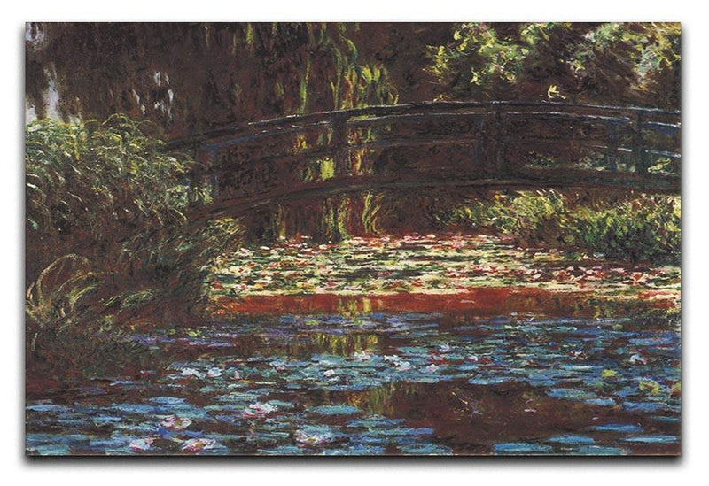 Water Lily Pond 1 by Monet Canvas Print & Poster  - Canvas Art Rocks - 1