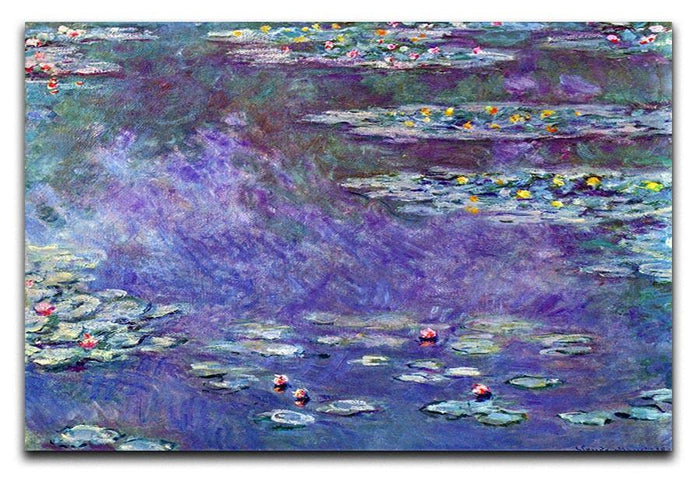 Water Lily Pond 3 by Monet Canvas Print or Poster