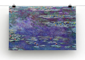Water Lily Pond 3 by Monet Canvas Print & Poster - Canvas Art Rocks - 2