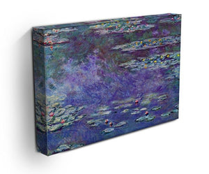 Water Lily Pond 3 by Monet Canvas Print & Poster - Canvas Art Rocks - 3