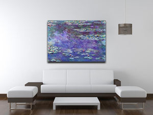 Water Lily Pond 3 by Monet Canvas Print & Poster - Canvas Art Rocks - 4
