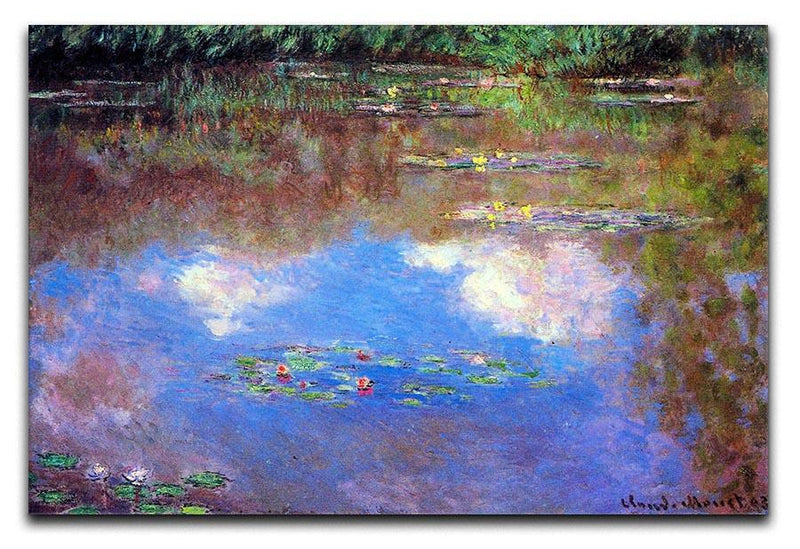 Water Lily Pond 4 by Monet Canvas Print & Poster  - Canvas Art Rocks - 1