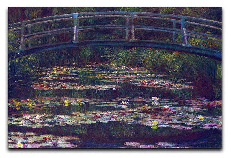Water Lily Pond 5 by Monet Canvas Print & Poster  - Canvas Art Rocks - 1