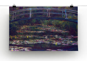 Water Lily Pond 5 by Monet Canvas Print & Poster - Canvas Art Rocks - 2