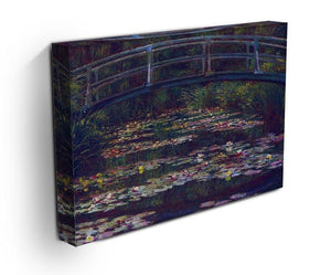 Water Lily Pond 5 by Monet Canvas Print & Poster - Canvas Art Rocks - 3
