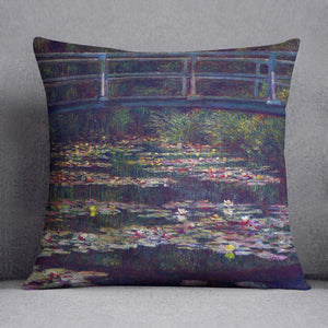 Water Lily Pond 5 by Monet Throw Pillow