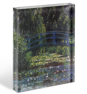 Water Lily Pond 6 by Monet Acrylic Block - Canvas Art Rocks - 1
