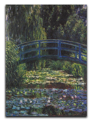 Water Lily Pond 6 by Monet Canvas Print & Poster  - Canvas Art Rocks - 1
