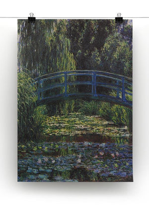 Water Lily Pond 6 by Monet Canvas Print & Poster - Canvas Art Rocks - 2